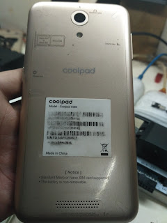 Cara Flashing Firmware Coolpad E580 Scatter File MT6735 - by