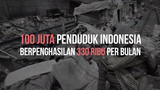 330 ribu penghasilan rata rata penduduk indonesia