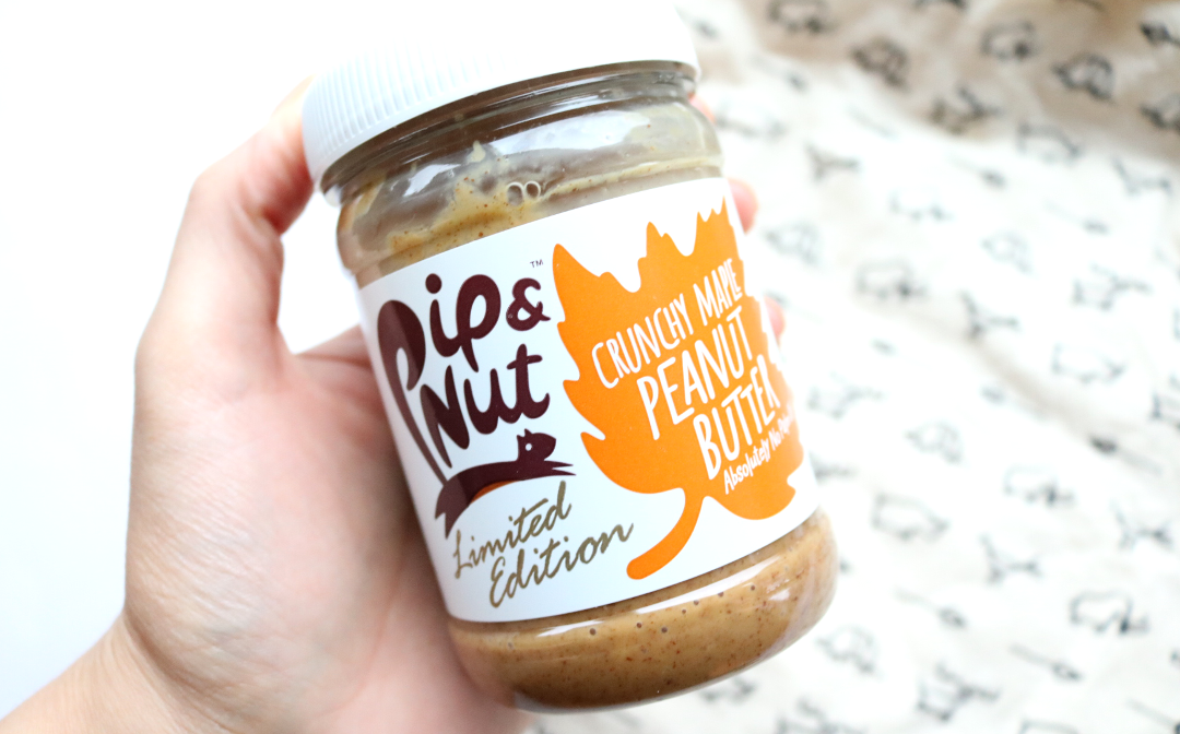 Pip & Nut Limited Edition Crunchy Maple Peanut Butter