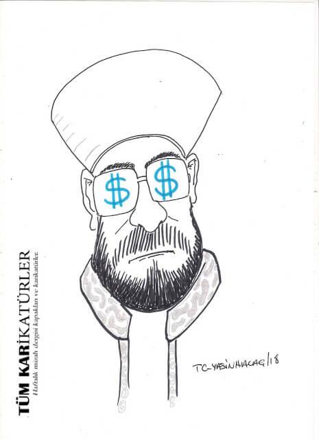 diyanet başkanı karikatür