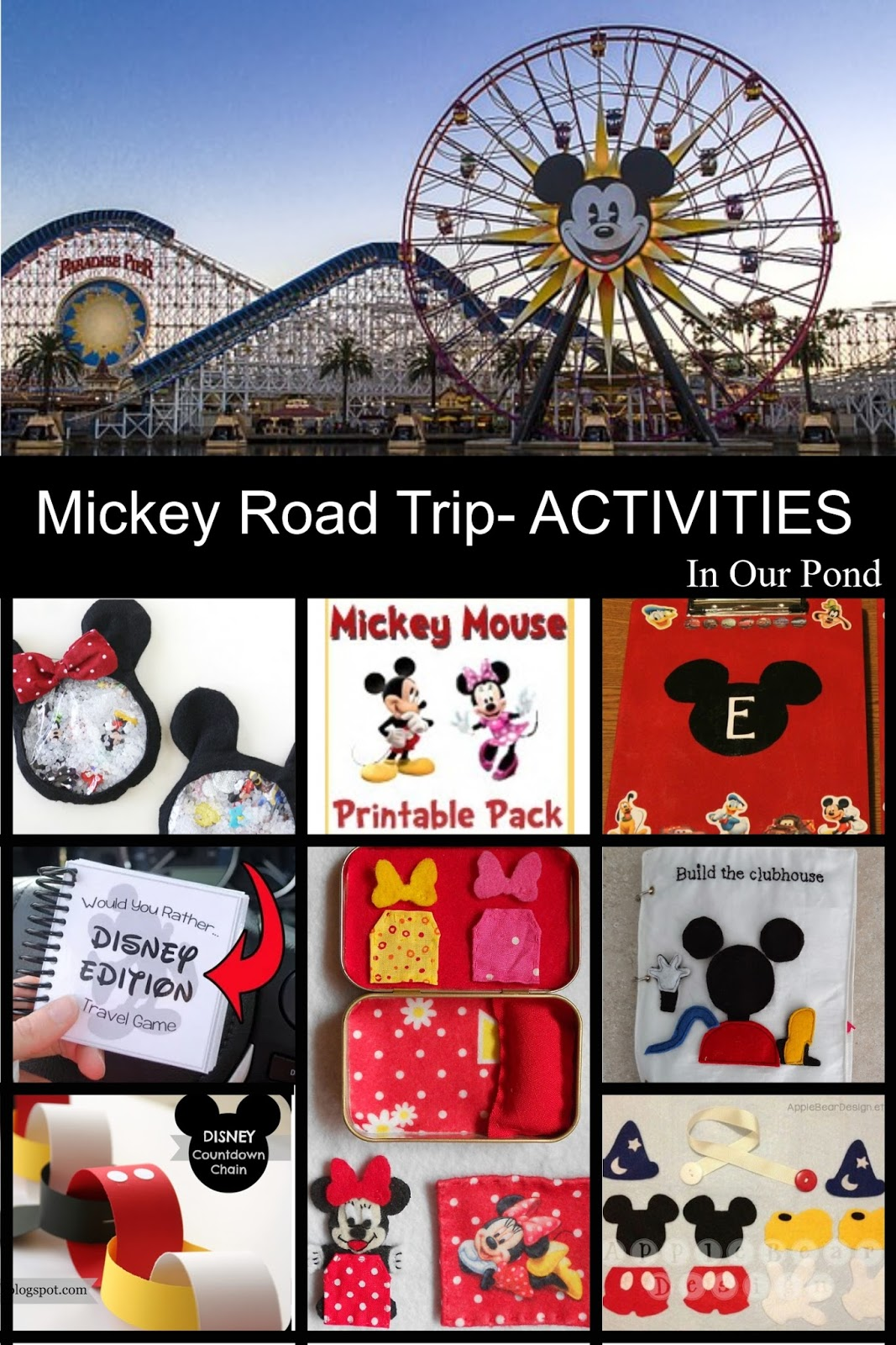 How To Plan A Mickey Mouse Themed Road Trip