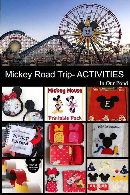 How to Plan a Mickey Mouse Themed Road Trip- a Tutorial from In Our Pond