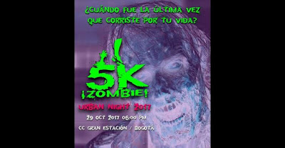 5k ¡Zombie! Urban Night 2017 2