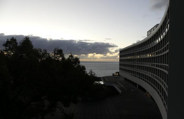 Blick vom Hotel Pestana Casino Park aufs Meer