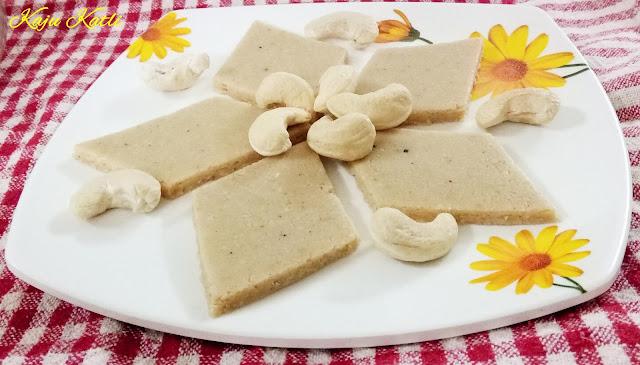 Easy Kaju Katli Recipe | Cashew Barfi Recipe
