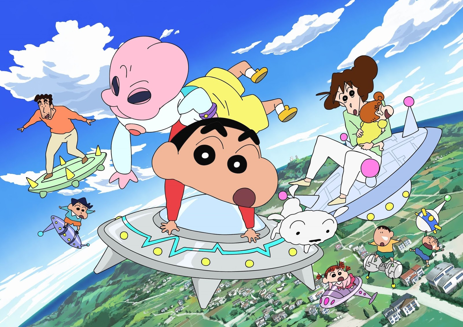 Download Film Crayon Shinchan: Invasion Alien Shiriri Full Movie Mp4 (2017)