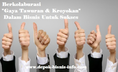 Bisnis, Info, Kolaburasi, Kerja sama