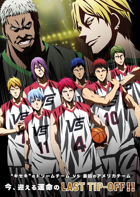 kini Kuroko no Basket kembali dengan The Movie nya yang berjudul Kuroko no Basket [Review Anime Movie] Kuroko no Basket: Last Game