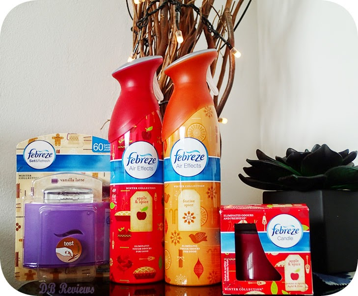 Febreze's Winter Collection