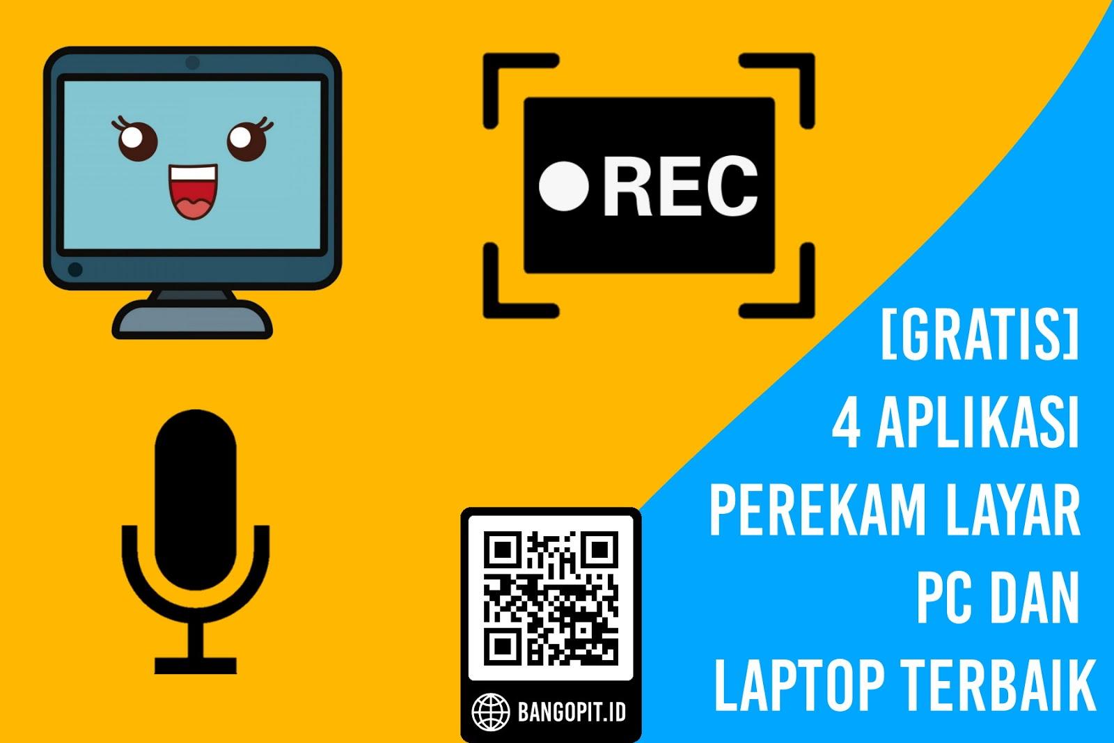 [GRATIS] 4 Aplikasi Perekam Layar PC dan Laptop Terbaik