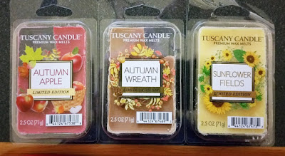 Tuscany Candle Wax Melts - Fall 2018