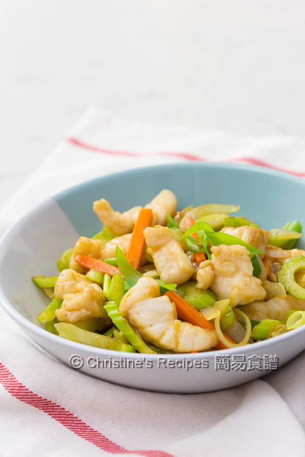 Celery Fish Stir Fry01