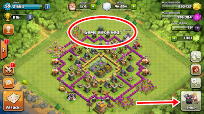 Download Gems Clash of Clans Gratis