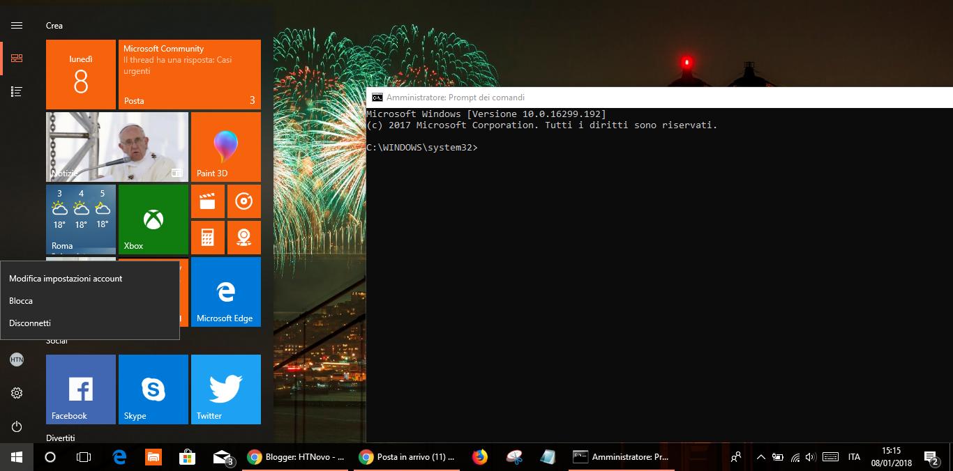 Disattivare-Account-Windows-10