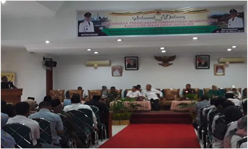 Bupati Tanah Datar:  Musrenbang Kabupaten Tanah Datar Berlandaskan Filosofi ABS SBK