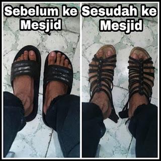 meme sholat tarawih