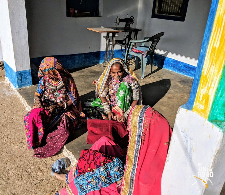 The colorful women of Gandhi nu Gram village, Kutch