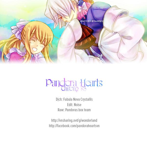 Pandora Hearts chương 083 - retrace: lxxxiii after the rain trang 36
