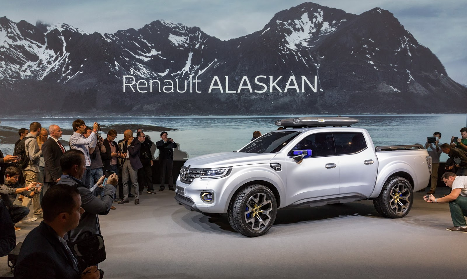 Renault To Unveil New Alaskan Pickup Truck On June 30 ...