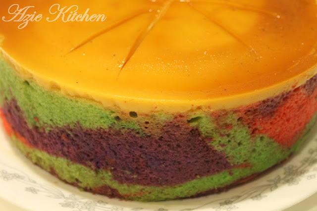 Kek Karamel Yang Sedap