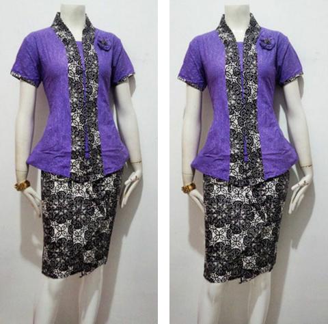 model baju blus modern