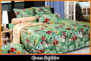 Sprei & BedCover Impression - Green Saphire