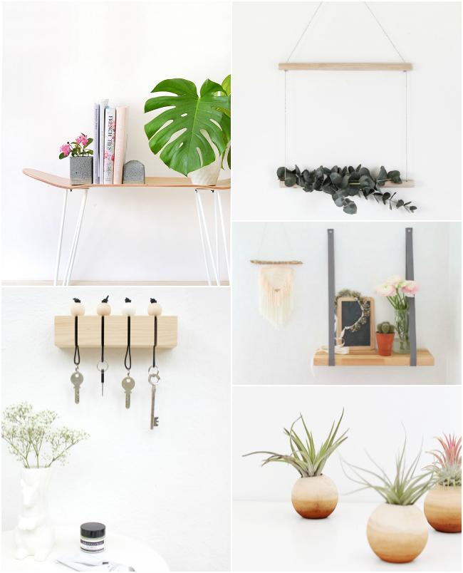 10 #DIY para crear rincones #bonitistas en casa