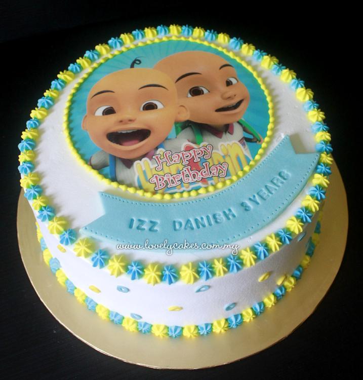 Birthday Cake Upin Dan Ipin Image Inspiration of Cake and Birthday