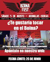 Concurso de bandas Boina Fest