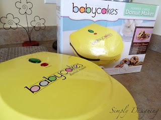 Pumpkin Donut SimplyDesigning 02 babycakes Donut Maker GIVEAWAY!!! - closed 6