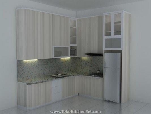 Harga Kitchen Set Dapur Minimalis Model Desain Contoh