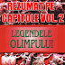 """Legendele Olimpului rezumat volumul 2 """"Eroii"""" pe capitole."""