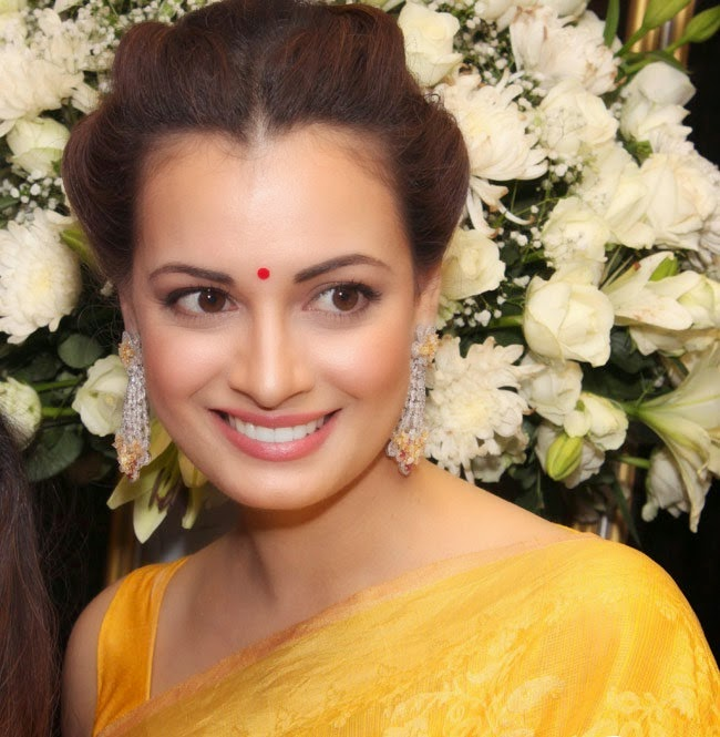 Dia Mirza Stills at sunar jewellery store launch