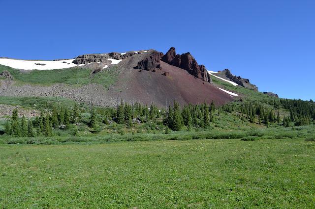 side of Derby Peak