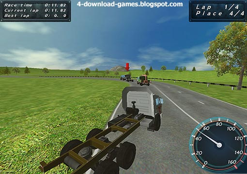 لعبة سباق شاحنات Max Power Trucks