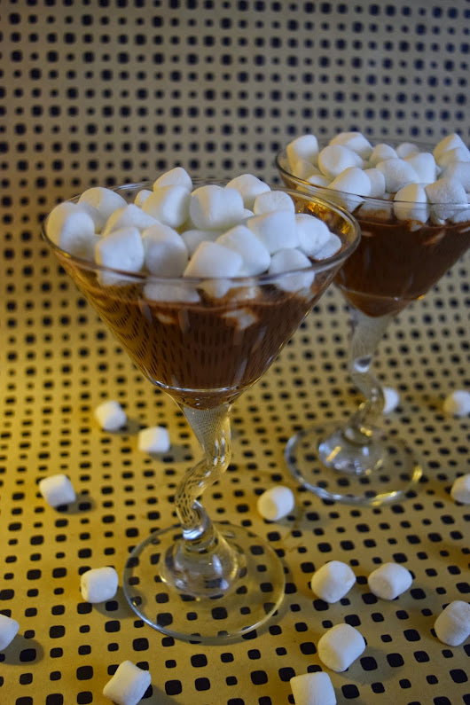 Goddess Goodies: Marshmallow Hot Cocoa Nutella Cocktails