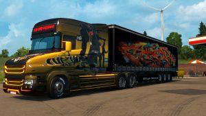 Hip-Hop Hard pack for Scania T Longline
