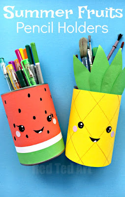 kawaii pencil holder