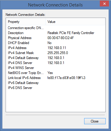 How to View Computer MAC and IP Address