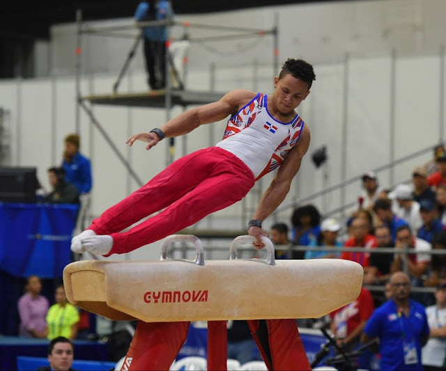 Gimnasta Audrys Nin Reyes gana bronce en Centroamericanos