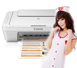 Solusi Untuk Mengatasi Printer Canon MG2570 Error 6800 atau Blingkin atau Lampu Berkedip-kedip