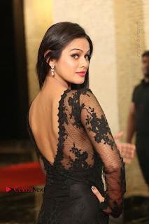 OMG Super sexy Item Girl Soniya in Tight Transparent Black Dress at SIIMA Awards 2017