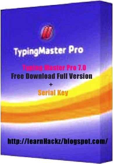 Typing Master Pro 7.0 Free Download Full Version + Serial ...