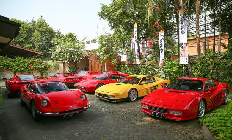 Indonesia Resmi Mendapat Lisensi Bangun Bengkel Khusus Restorasi Ferrari
