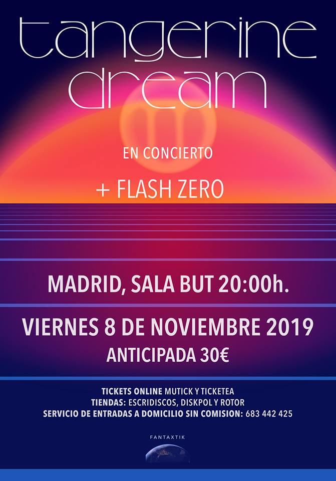 The Zest: Tangerine Dream live in Spain, 2019
