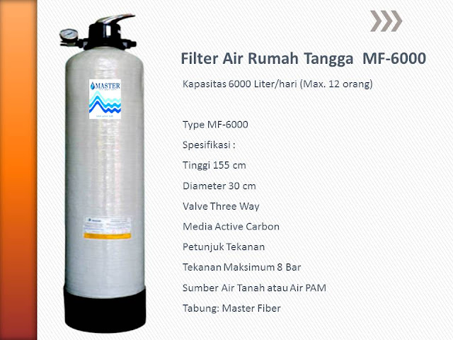 Filter Air Rumah Tangga MF-6000