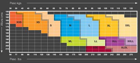 O De Zapatillas Equivalencia Números Tallas jUGSzMpLqV
