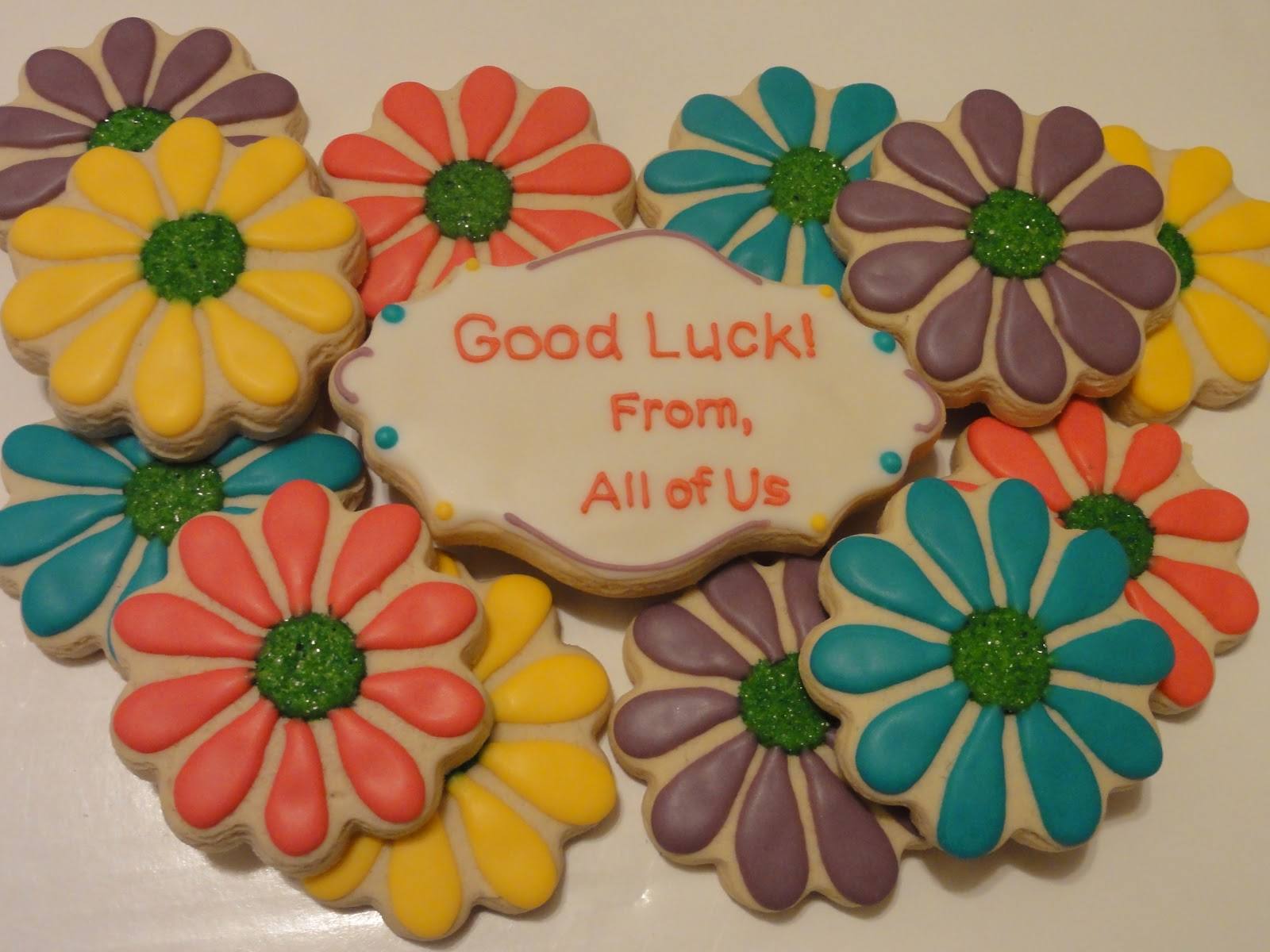 The Cookie Puzzle: Some Simple Flowers