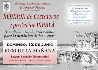 Reunión Costaleros 16 de Julio MAÑANA