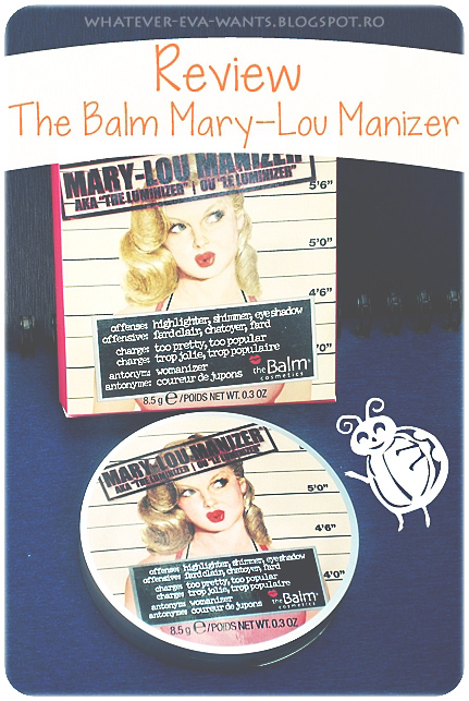 theBalm Mary-Lou Manizer Highlighter - review, photos, swatches